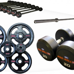 Pro-Bell Rubber Weights Pack