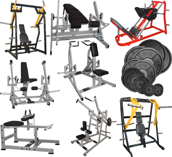 Plate Loading Gym Machines Package 163 10999 95 Gymwarehouse